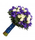 Buchete de mireasa iris