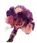 Pachet lumanari nunta ieftine hortensia trandafiri
