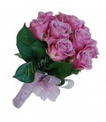 Pachet lumanari nunta ieftine trandafiri mov
