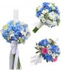Pachete nunta hortesia blue