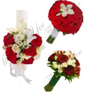 Pachete nunta ieftine trandafiri cale