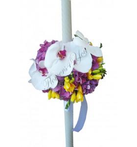 Lumanari frezia hortensia phalaenopsis