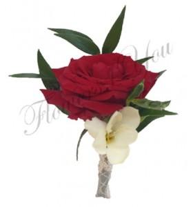 Cocarda trandafiri gipsofila