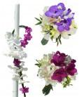 Pachet floral lumanari dendrobium