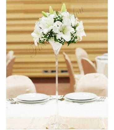 Aranjament floral nunta crin ajb.