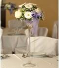 Aranjament floral nunta gerbera santini gipsofila