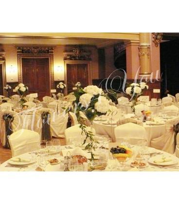 Aranjament floral nunta hortensia