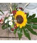 Aranjamente florale nunta santini floarea soarelui
