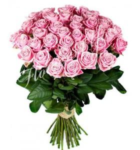 Buchet flori trandafiri roz
