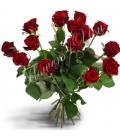 Buchet trandafiri grena simplu