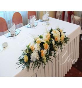Aranjamente prezidiu hortensia trandafiri