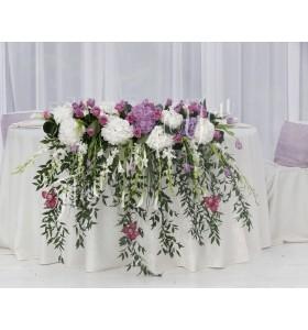 Aranjamente florale prezidiu hortensia cale lalele orhidee dendrobium trandafiri