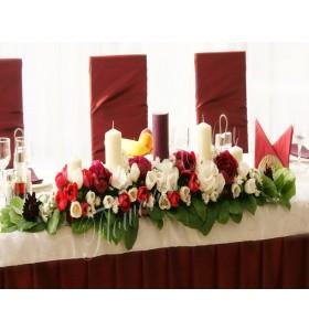 Aranjamente florale prezidiu lalele bujori hortensia
