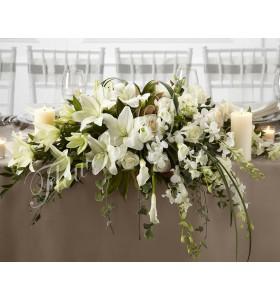 Aranjament floral prezidiu crin dendrobim
