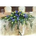 Aranjamente florale prezidiu lalele iris