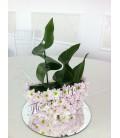 Aranjament floral botez barca