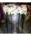 Cristelnita botez frezii albe orhidee alba
