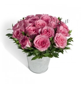 Aranjament trandafiri roz