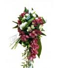 Lumanari nunta orhidee mini trandafiri