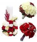 Lumanari nunta ieftine trandafiri hipericum