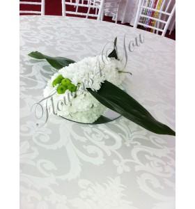 Aranjament floral botez avion