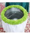 Cristelnita botez santini verde