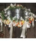 Cristelnita botez trandafiri ruscus funde