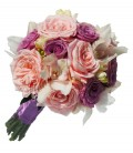 Buchet nasa trandafiri orhidee frezii